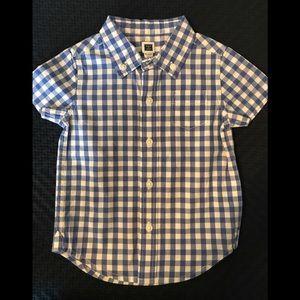 Janie and Jack checkered dress shirt